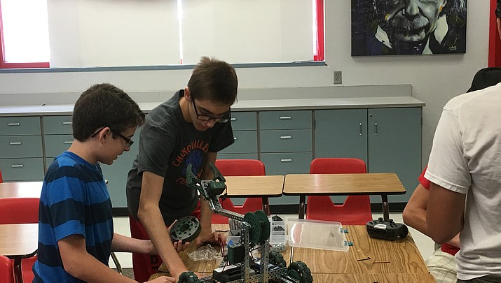 Robots go to high school in Chino Valley