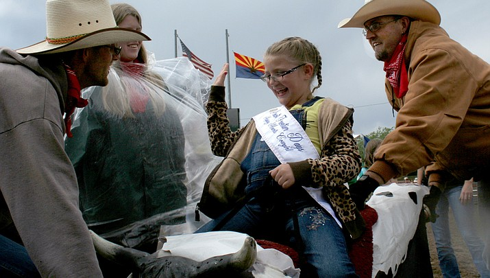 A little rain, a lot of fun: Happy HEARTS Rodeo kicks off Frontier Days