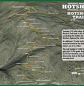 Hotshots memorial  trail nearly complete; path expected to be open Nov. 29 photo