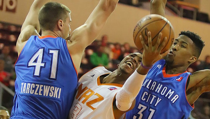 NAZ loses 4th straight, falls to Oklahoma City 101-97