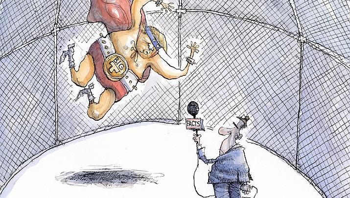 Editorial Cartoon: Feb. 19, 2017