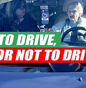 To drive, or not to drive? That is the question facing many older residents photo