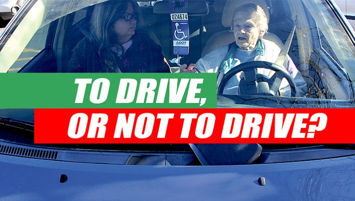 To drive, or not to drive? That is the question facing many older residents