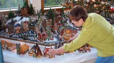 Miniature Village Display Is A Dickens Of A Holiday