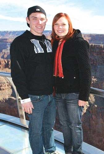 Amanda McCracken and Christopher Simmons