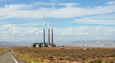 The Navajo Nation Council tabled a decision on whether to renew the Navajo Generating Station lease through 2044 until this week. Photo/Alex Proimos