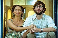 Maya Rudolph (left) as Verona and John Krasinski as Burt in Sam Mendes' Away We Go.<br> Photo by François Duhamel