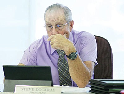 Board President Steve Dockray
