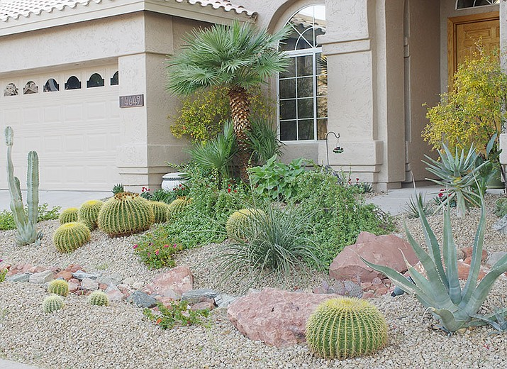 Low-water landscaping is one way to conserve water.  Also, check the watering system to be sure you are not watering too much.