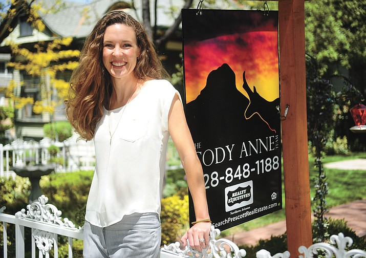 Cody Anne Yarnes owns The Cody Anne Team part of Realty Executives Northern Arizona in Prescott.