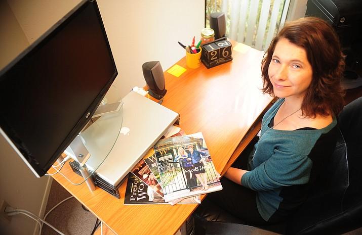 Bree Hinkel at Prescott Woman Magazine in Prescott.