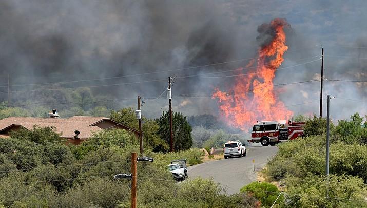 Bug Creek Fire burns 1,000 acres despite best efforts Tuesday