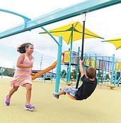 Grand opening of Kayla's Hands Playground is Saturday, Aug. 27 photo