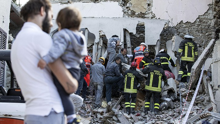Italy earthquake kills dozens, reduces towns to rubble