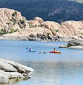 A look at the lake levels: Low water deters withdrawals, but not recreation seekers photo