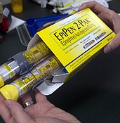 How EpiPen's maker raised prices, and hackles, so much photo