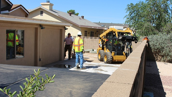 MCSO jackhammers concrete in search for body