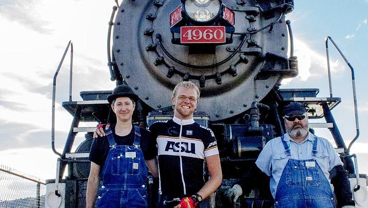 Man vs. Machine race pits cyclists against 1900s era steam engine