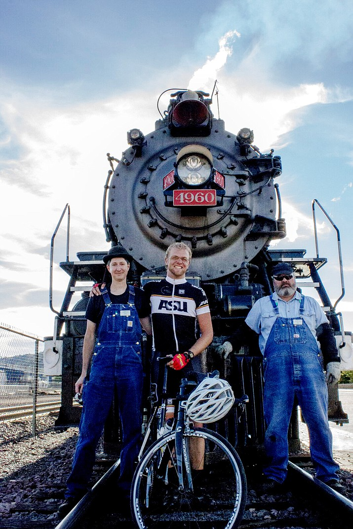 Man vs. Machine bicycle race takes place Sept. 24 pitting cyclists against a vintage steam engine in a 53 mile race from Tusayan to Williams.