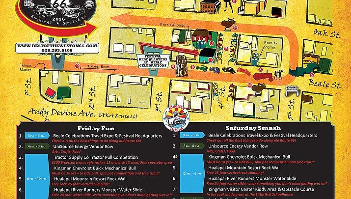 Best of the West on Route 66 Festival, Andy Devine Days starts today