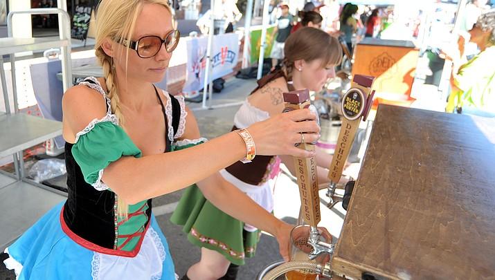 Oktoberfest in downtown Prescott this weekend