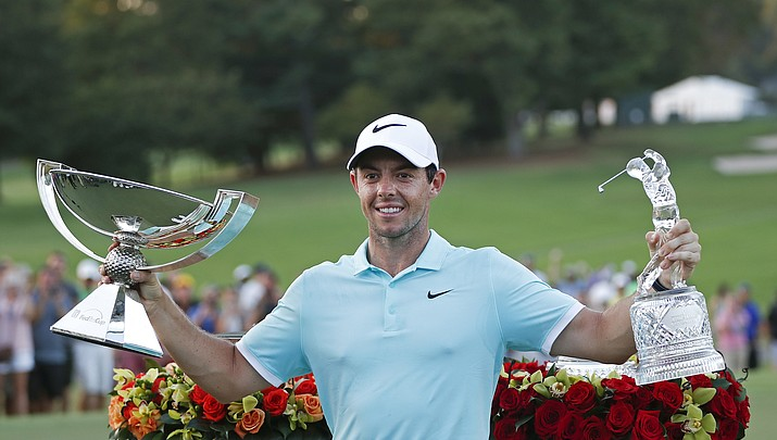 Golf Capsules: McIlroy wins FedEx Cup, big paycheck
