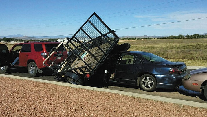 Photo: Highway 89 pile-up