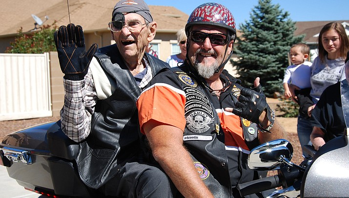 At almost 102, Prescott Valley hospice patient treated to one last ride