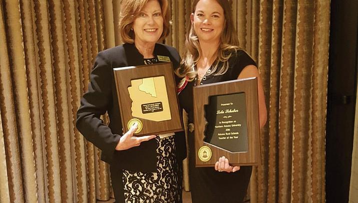 Lela Schober wins 2016 Arizona Rural Teacher of the Year