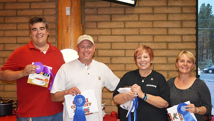 Chili Cook-off champions and grant winners recognized