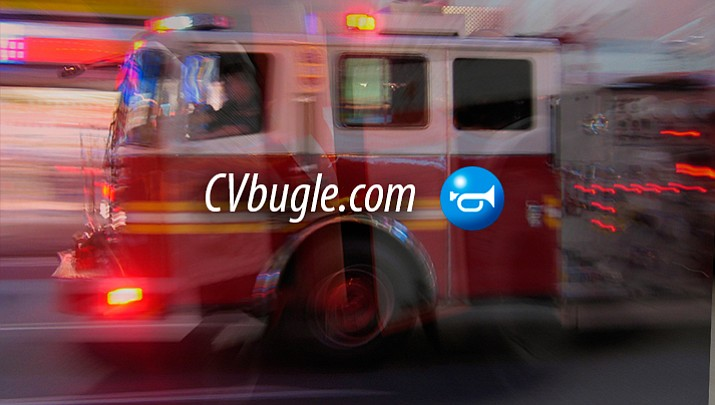 Emergency crews attack residential fire