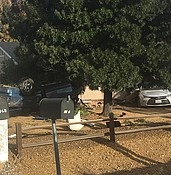 Photo: Rollover hits house in Prescott Valley photo
