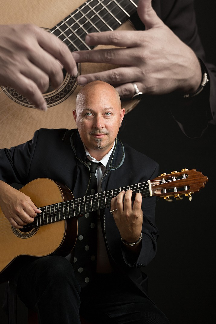 "Award-winning, internationally-recognized classical and flamenco guitarist/composer Andre Feriante is returning to Sedona. Feriante will present ""The Poet of the Guitar"" — a multi-instrument show on guitar, ukulele and banjo at the Mary D. Fisher Theatre on Saturday, Nov. 12."