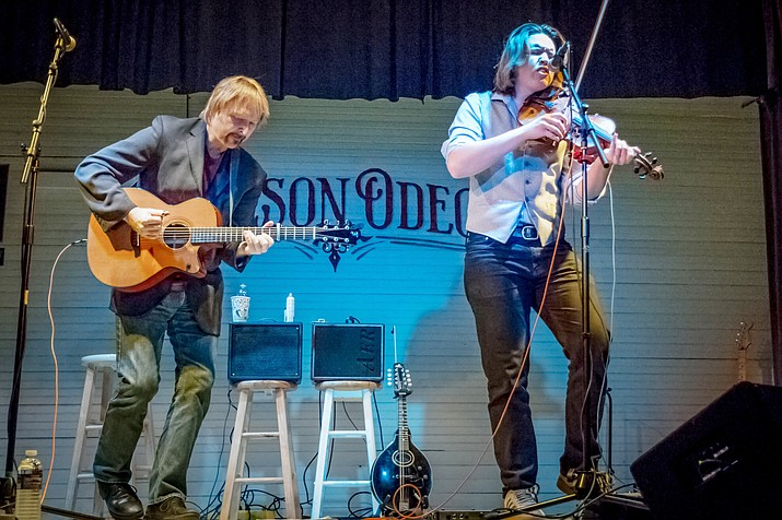 Tim and Myles Thompson, a father and son duo from Nashville, comes to Cottonwood Saturday, Nov. 19 at 7 p.m. in a special live concert at Old Town Center for the Arts.