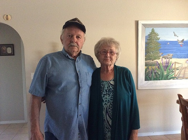 The Kingman couple celebrated their 59th anniversary Friday.