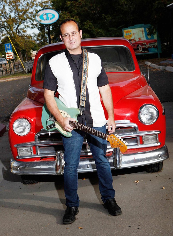 Randy J takes the stage at Vino Di Sedona on Music Monday, November 28, 7-10 p.m. Randy is famous for his 50's and 60's style surf guitar.
