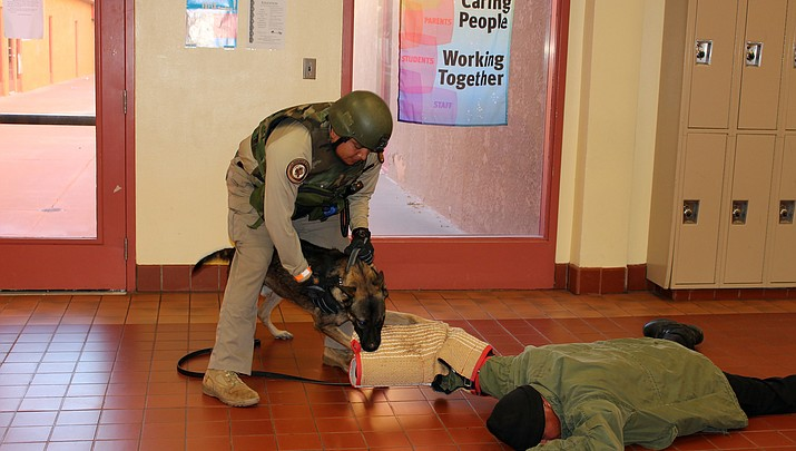 Active shooter drill takes Hopi Jr./Sr. High by storm, receives high marks