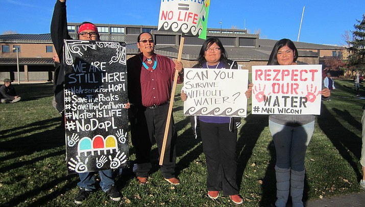 Navajo Nation wants Obama to intervene on behalf of Standing Rock Tribe