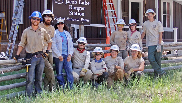 Historic Jacob Lake Ranger Station receives a facelift
