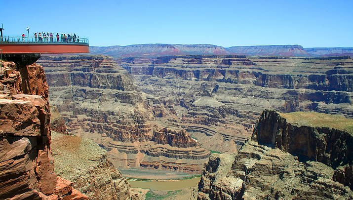 Grand Canyon West destinations expected  to surpass 1.1 million visitors in 2016