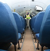 PRECIOUS CARGO: How do our school districts keep children safe on their buses? photo