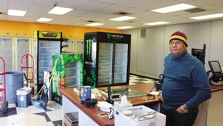 Major renovations under way at Gas Plus