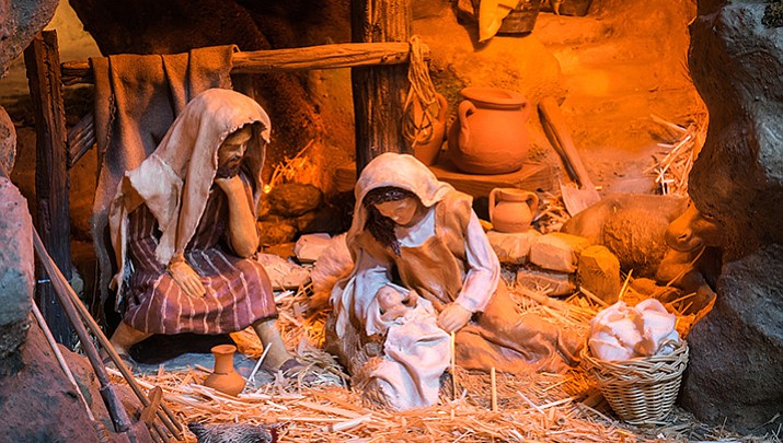 Free Christmas concert, nativity display Sunday, Dec. 11