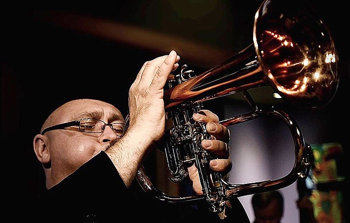 """Celebrated for his warm tone, soaring lyricism and masterful technique, flugelhornist Dmitri Matheny brings his group to the annual """"Have Yourself A Jazzy Little Christmas"""" concert at Saint Luke's, Sedona, for an afternoon of cool jazz and a toe-tapping prelude to the upcoming Christmas celebrations throughout Sedona and the Verde Valley."""
