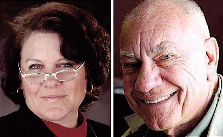 KayAnne Riley and former Prescott Mayor Marlin Kuykendall