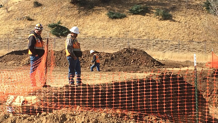 Channelization project begins at Viewpoint