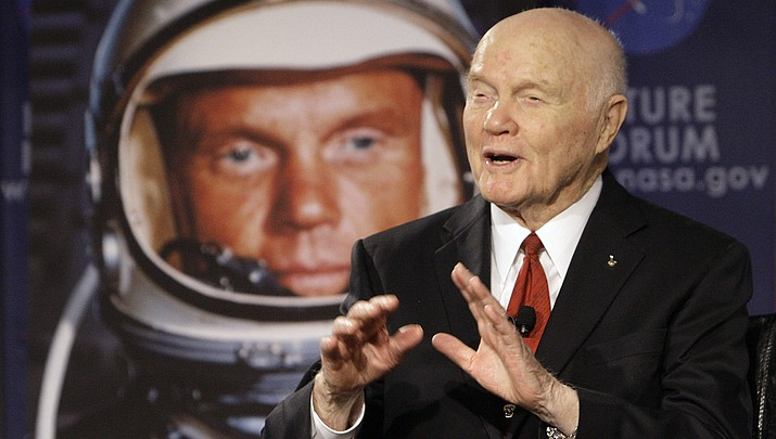 Former astronaut, US Sen. John Glenn of Ohio has died at 95