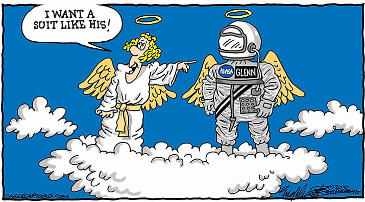 Editorial cartoon: Dec. 10, 2016