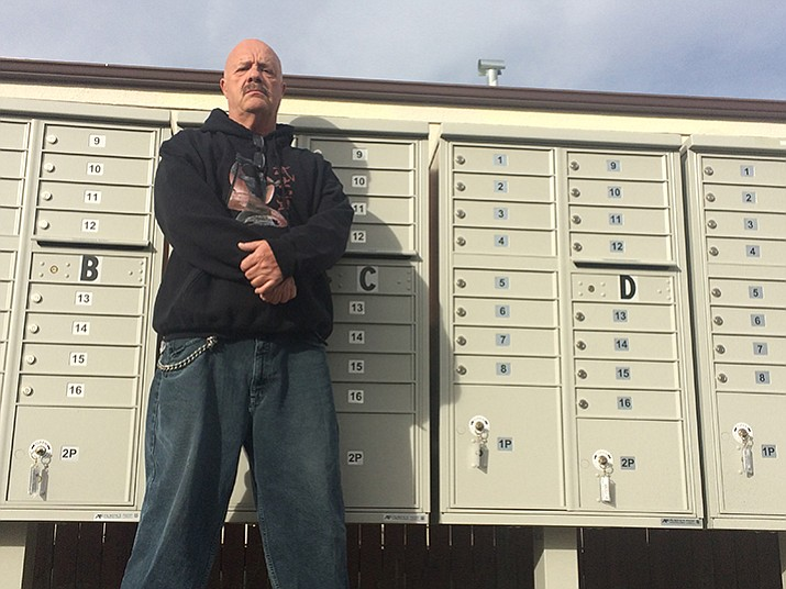 Mark Peterson recently had his packages stolen from mailboxes soon after those mailboxes were replaced due to thefts.