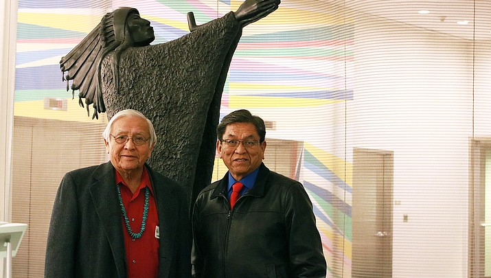 Navajo President Russell Begaye and Navajo Nation ambassador Peterson Zah advocate for indigenous participation at United Nations
